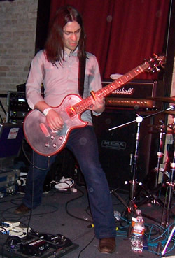 Guitarist Paul Mahon